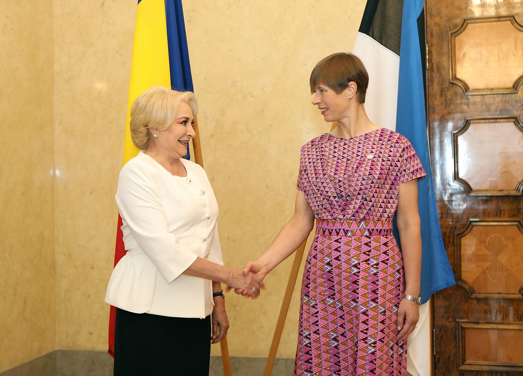 President Kersti Kaljulaid kohtus Rumeenia peaministriga