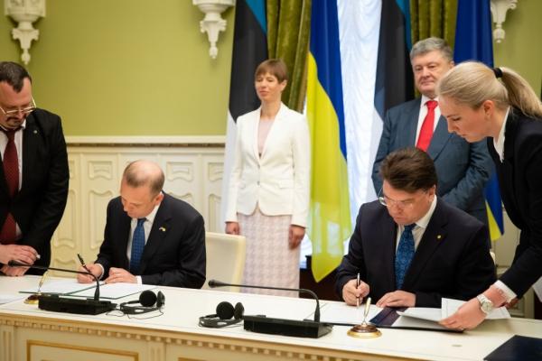 Eesti ja Ukraina allkirjastasid koostöömemorandumi noortevaldkonnas