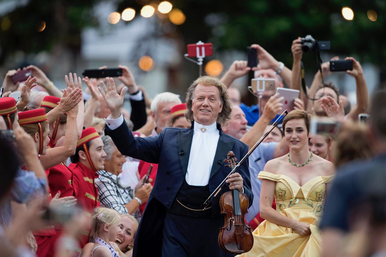 André Rieu legendaarset suvekontserti saab nautida ka Eesti publik