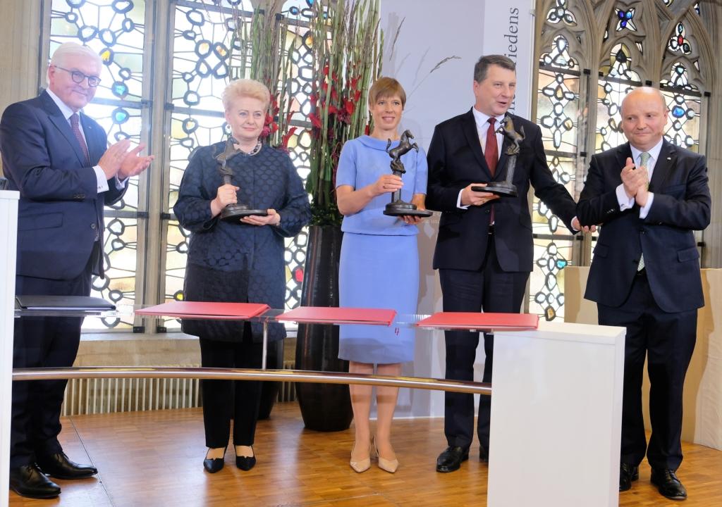 Eestit tunnustati Vestfaali rahu auhinnaga