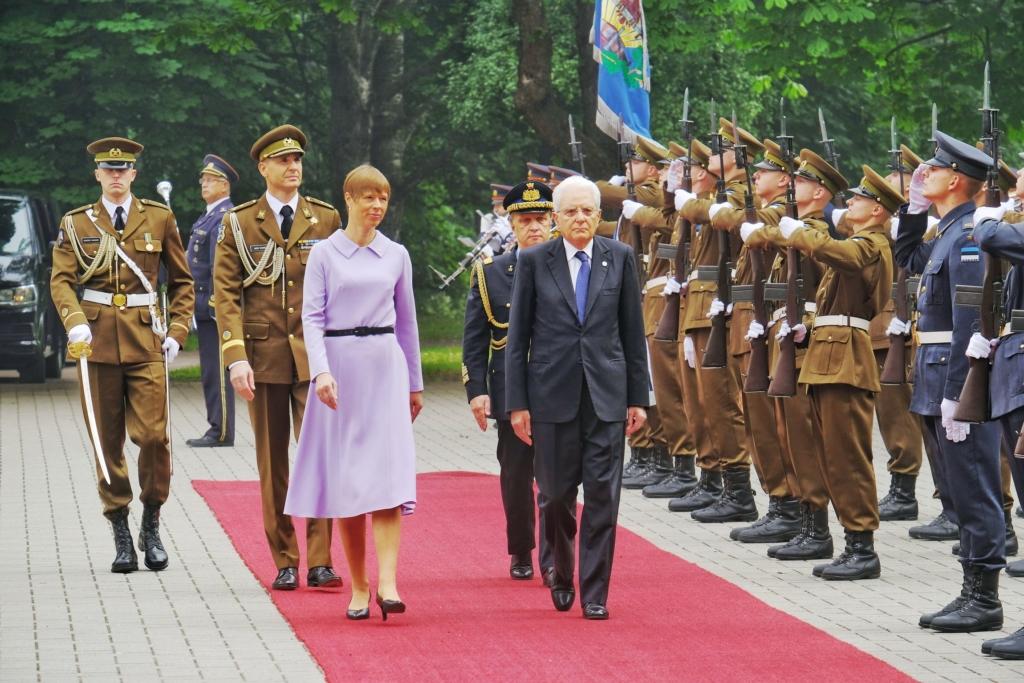 President Kaljulaid Itaalia kolleegiga kohtudes: riigid peavad väljakutsete lahendamisel püsima ühtsena