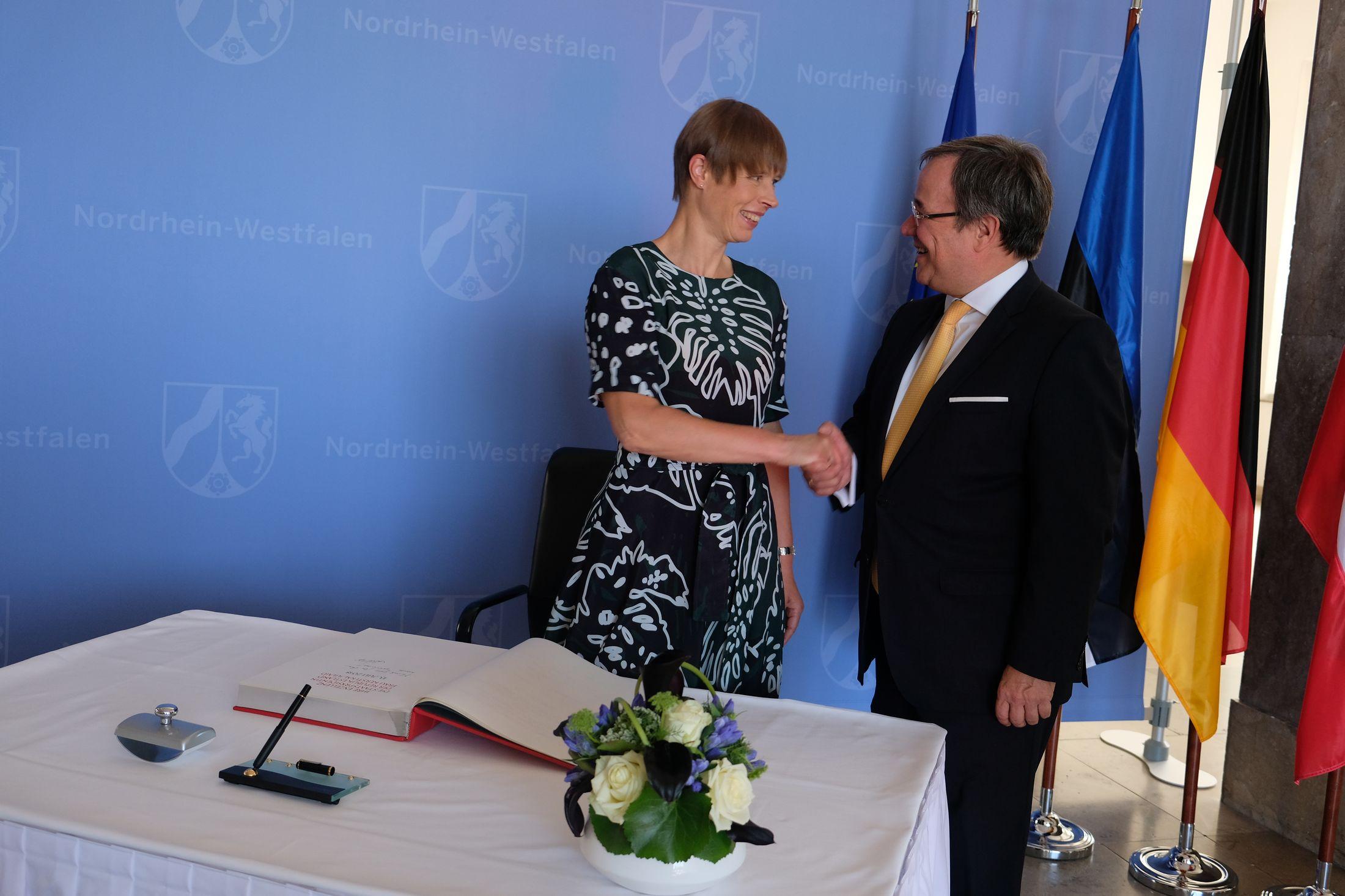 President Kersti Kaljulaid Düsseldorfis: eestlased väärtustavad Euroopa Liidu pakutavaid vabadusi