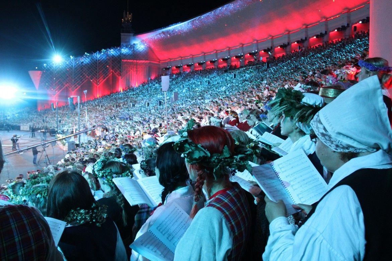 Kultuuriministrid edendavad Läti ja Leedu laulupidudel Balti koostööd