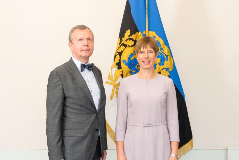 President Kersti Kaljulaid andis Eesti suursaadikutele üle volikirjad