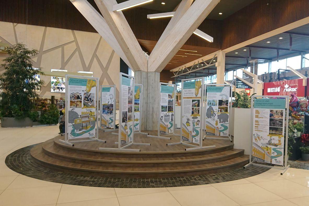 Tartu linna suvekampaania näitus tutvustab põnevaid puhkamisvõimalusi