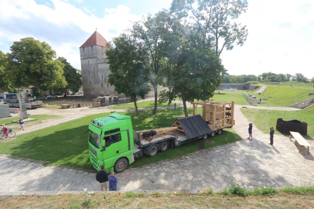 Reedel avatakse Kuressaare kindluses taastatud pukktuulik