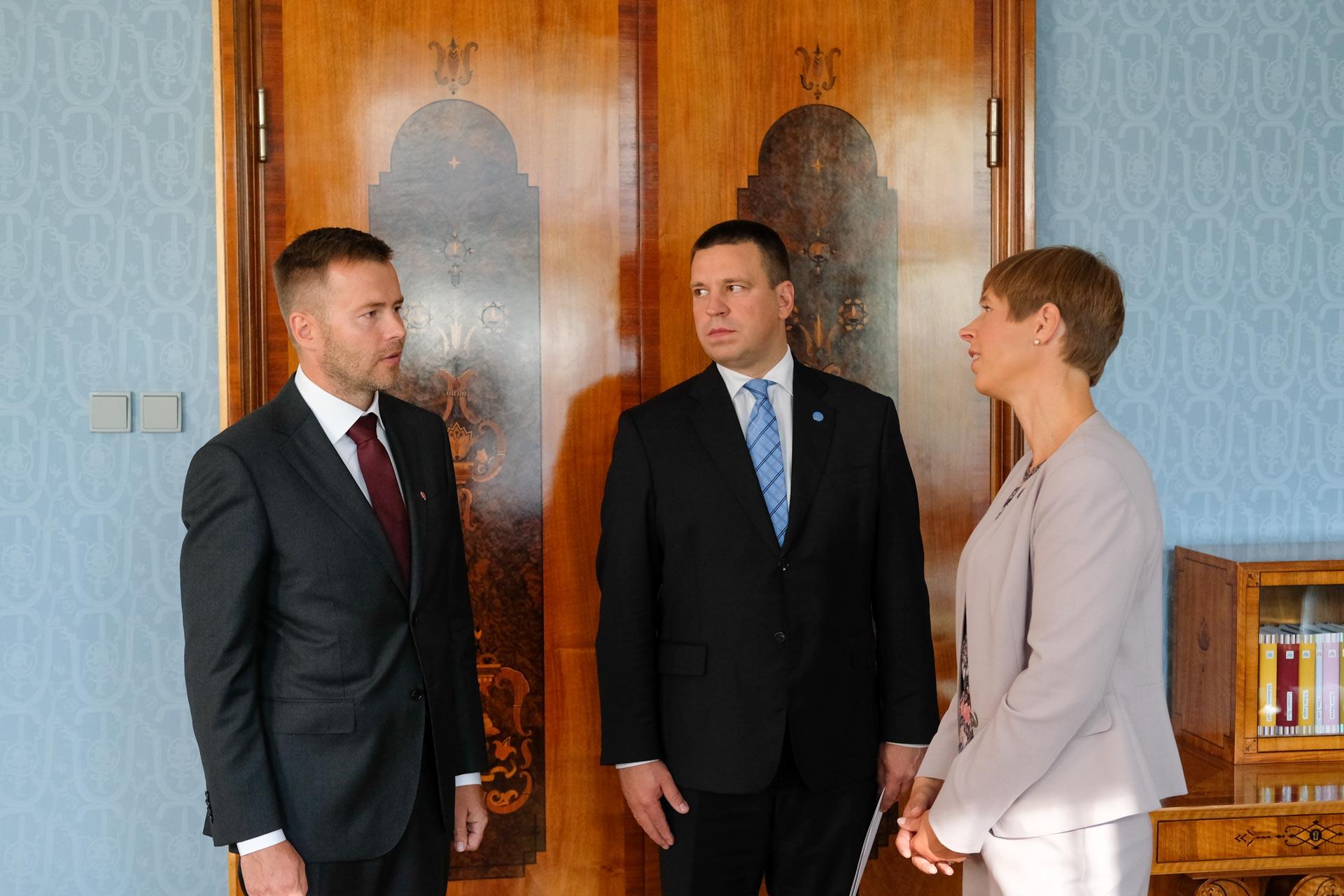 Vabariigi President nimetas ametisse ettevõtlus-ja infotehnoloogiaministri