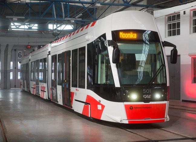 Tallinna tramm tähistab sünnipäeva avatud uste päeva ja paraadiga