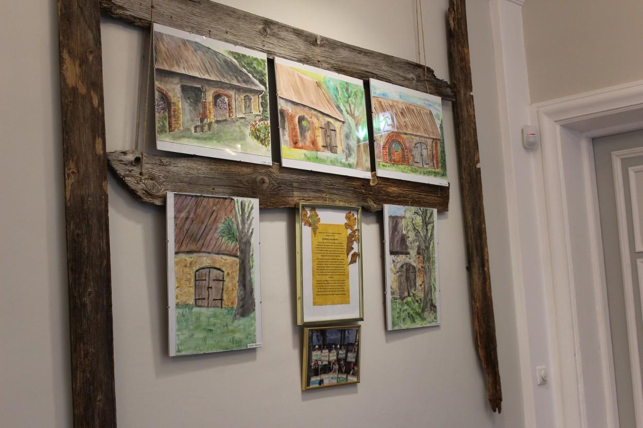 Otepää maalijad panid kokku Johannes Uiga auks näituse