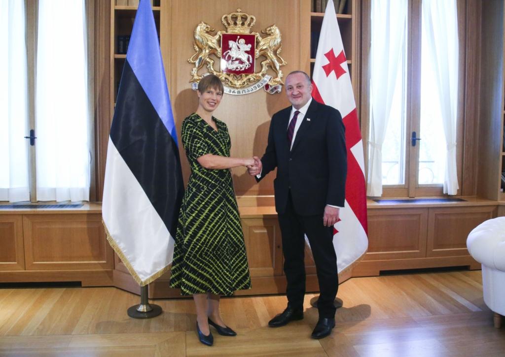 President Kersti Kaljulaid Gruusias: jätkuvad reformid teenivad Gruusia ja tema inimeste huve