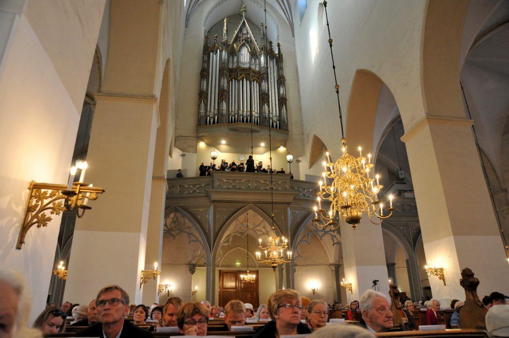 Oleviste kogudus tähistas 68. aastapäeva