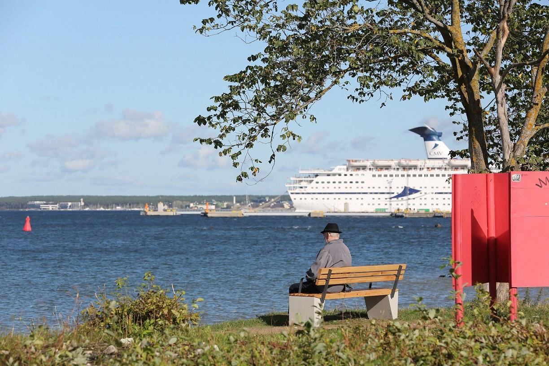FOTOD! Põhja-Tallinn kinkis linnaosa elanikele EV 100 puhul 100 pinki