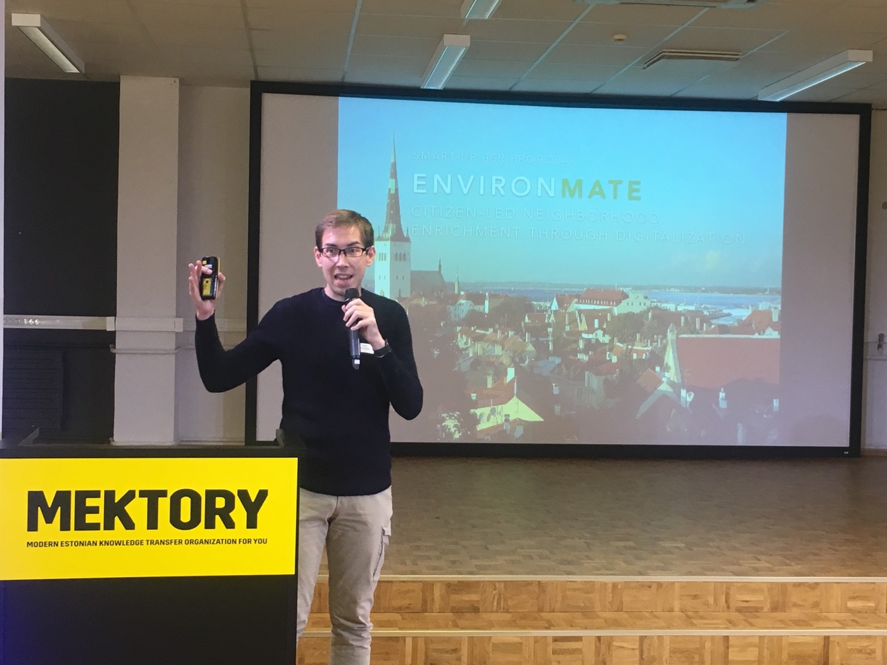 Tallinn Innovation Camp, best presenter