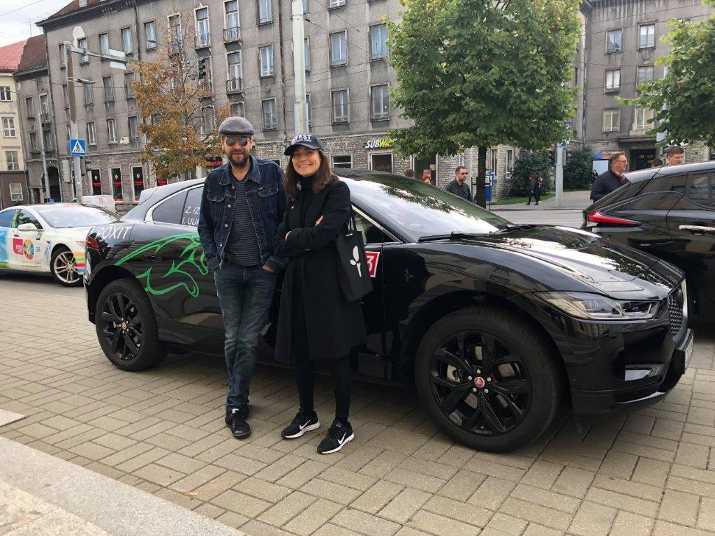 Elektriautode maratonil startisid ka abilinnapea Zülyxa Izmailova ja näitleja Ivo Uukkivi tiim