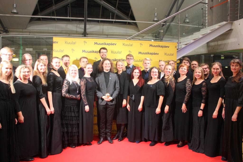 Tunnustus! Endrik Üksvärav ja Collegium Musicale pälvisid Kultuurkapitali aastapreemia