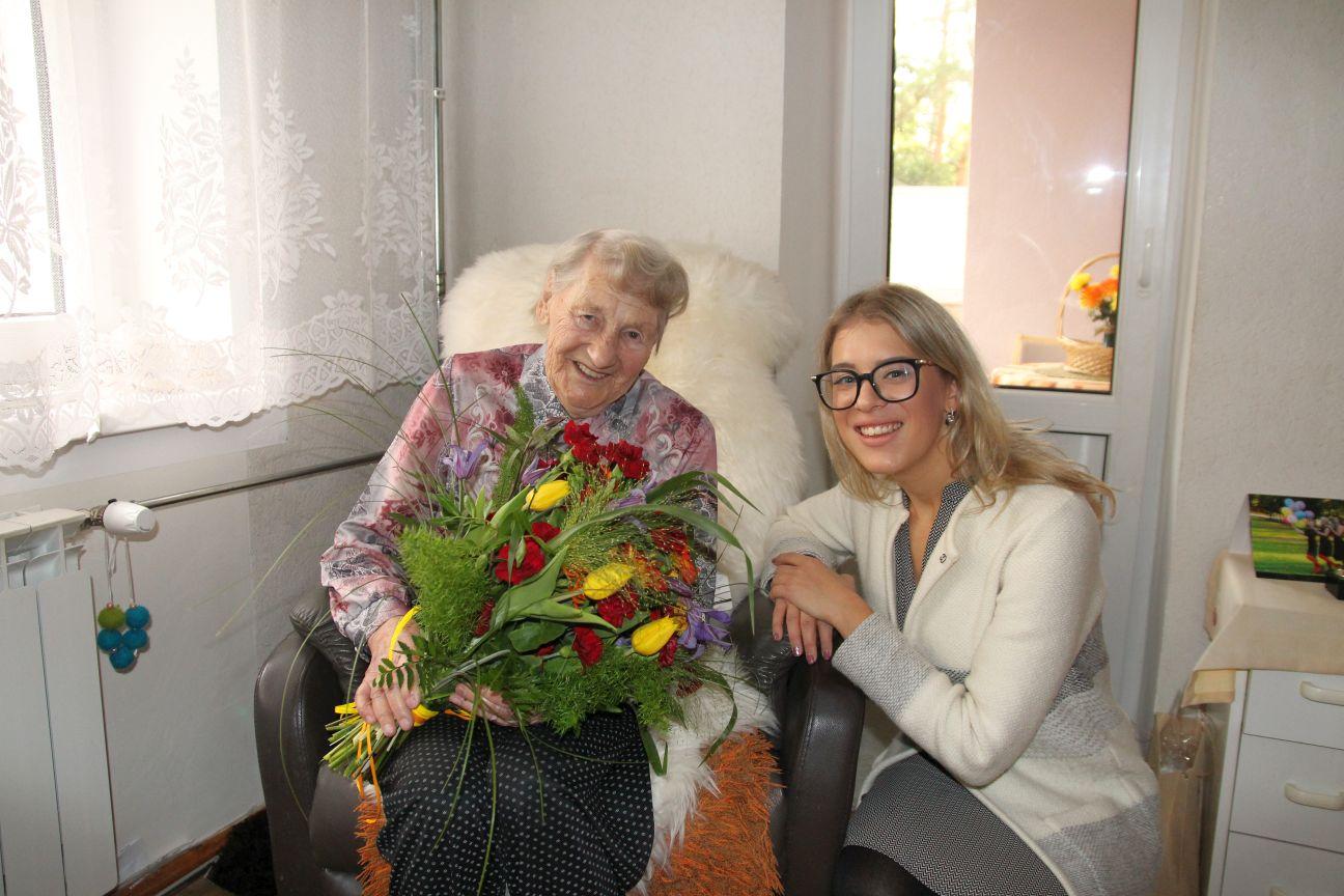 101-aastane Magda Niklus-Niklas peab pikaealisuse saladuseks positiivset mõtlemist