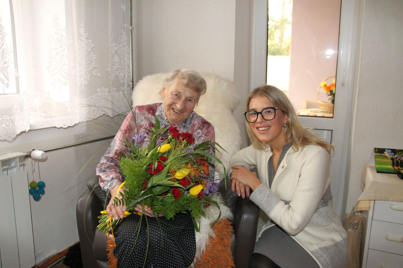 Magda Niklus-Niklas ja Grete Šillis