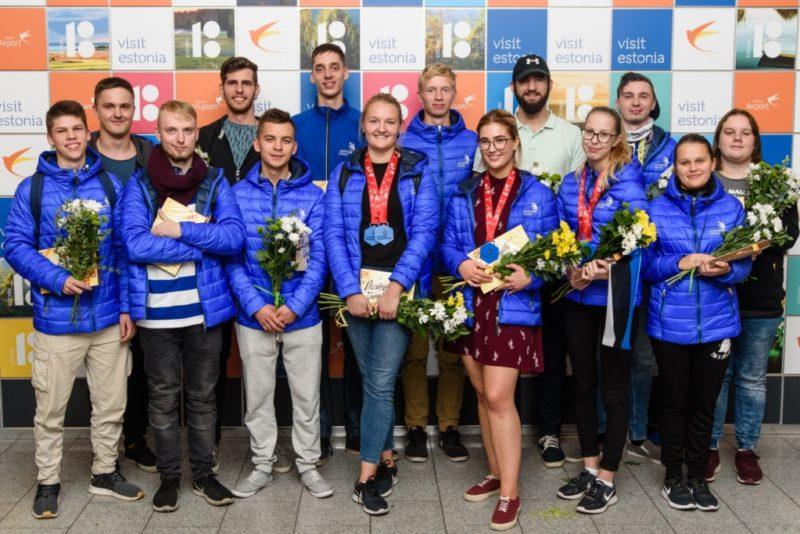 Eesti noored teenisid Euroopa kutsemeistrivõistlustel kolm medalit