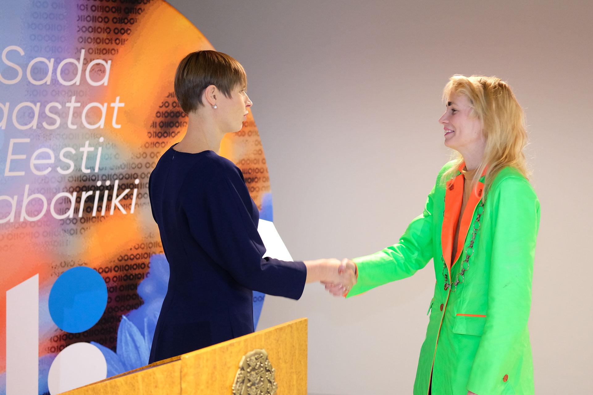 Presidendi kultuurirahastu noore kultuuritegelase preemia sai Kris Lemsalu