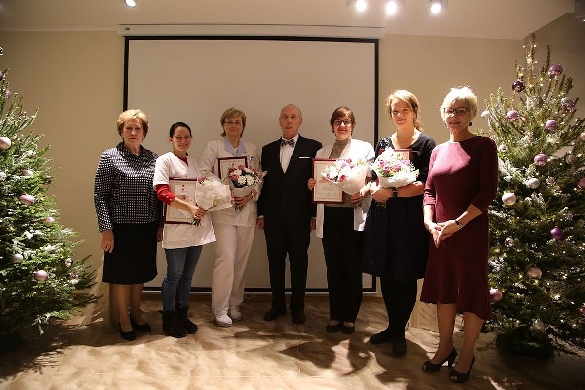 Tallinna Lastehaiglas tunnustati parimaid arste ja õdesid