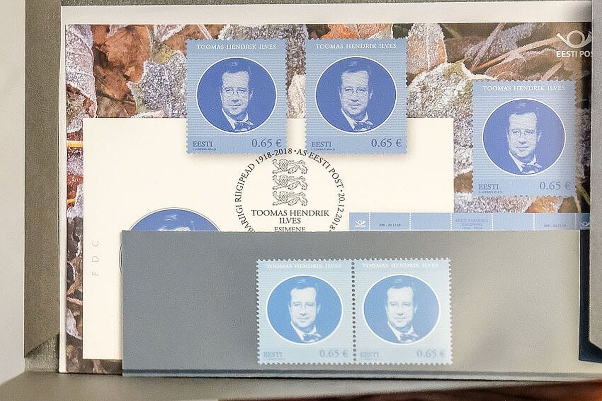 Ilvese postmark