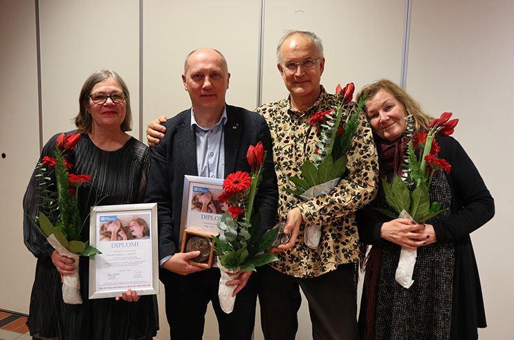 Soome SOS Lasteküla tunnustas Margus Orot suure autasuga