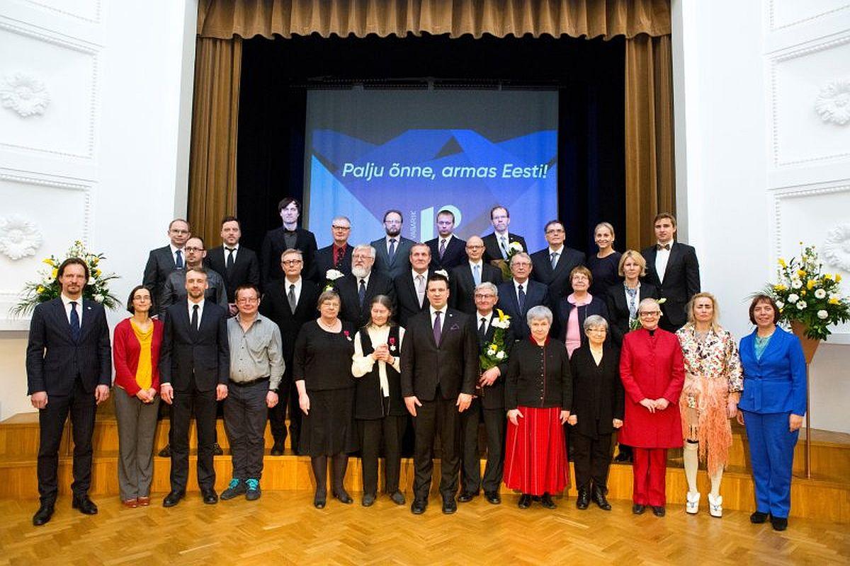 2018 laureaadid