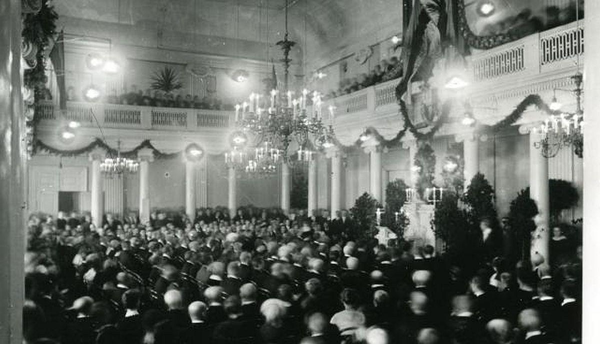 Aktus 1. detsembril 1919 (Eesti Kirjandusmuuseumi arhiiv)