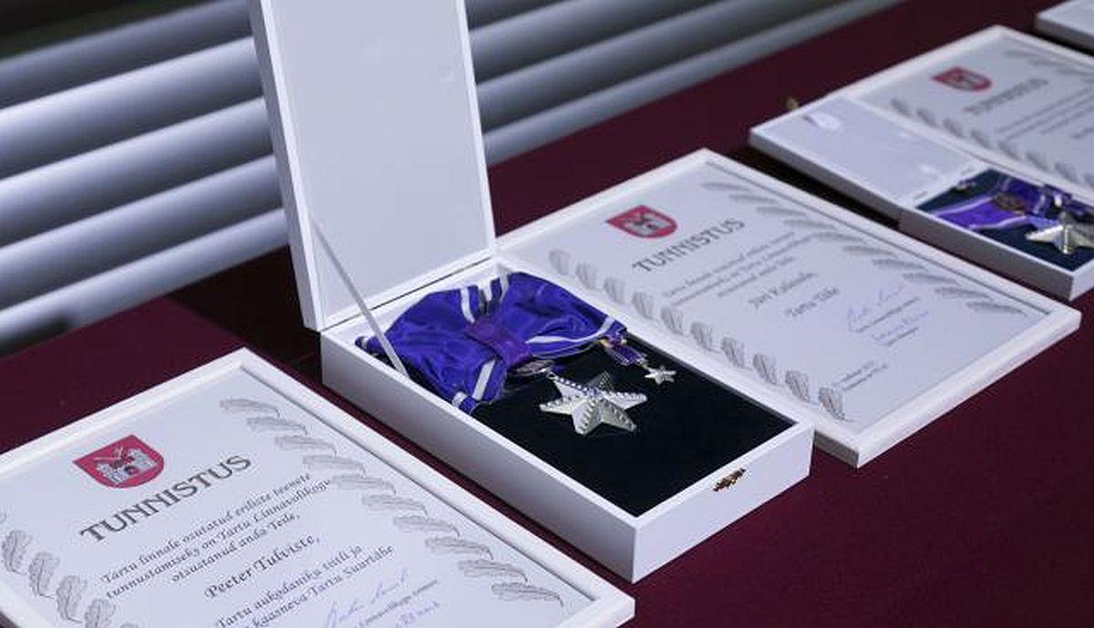 Volikogu nimetas Tartu aukodanikud