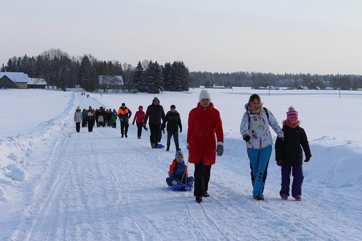 Tammsaare rahvamatkal käis külmal talvepäeval 291 inimest!