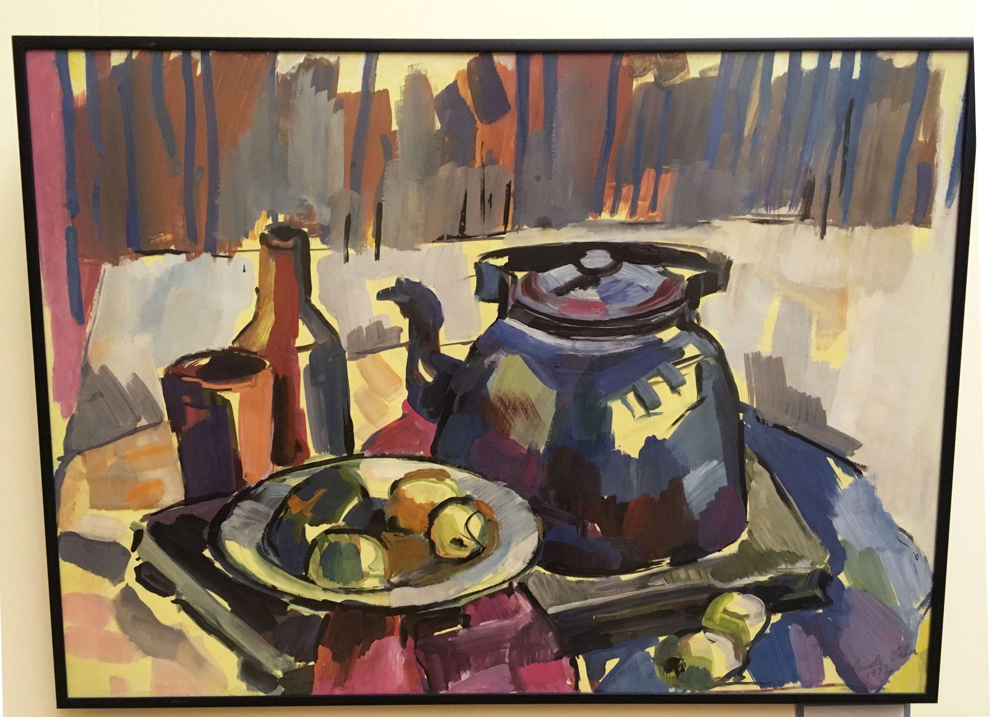 Nõmme muuseumis saab näha Irmeli Vaher-Jaansoni maale