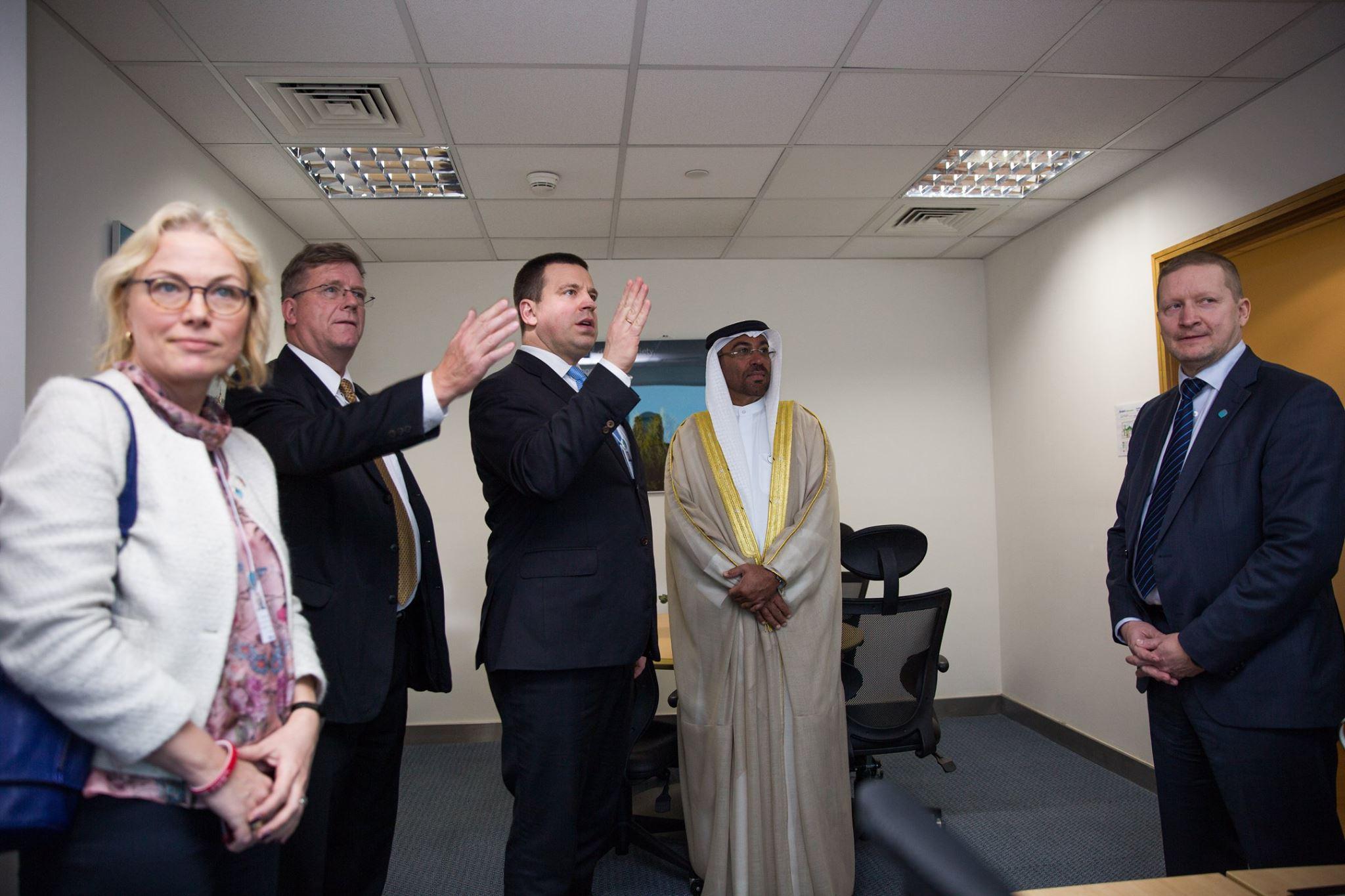 EAS avas Araabia Ühendemiraatides välisesinduse