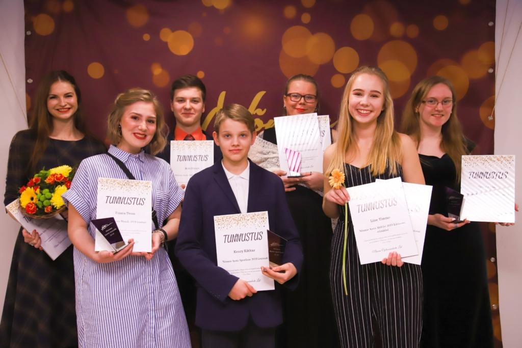 Nõmme aasta õpilase gala laureaadid