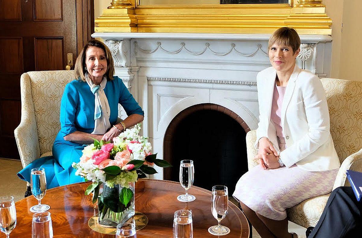 Kaljulaid kohtus Pelosiga