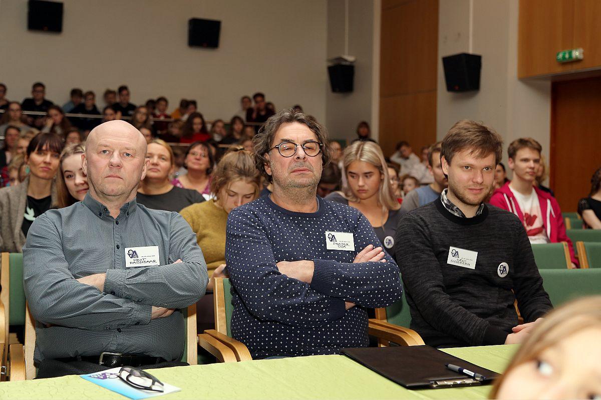 Priit Pajusaar, Pärt Uusberg, Peeter Oja