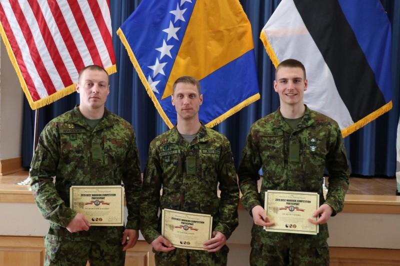 Eesti kaitseväelased olid Best Warrior võistlusel edukad