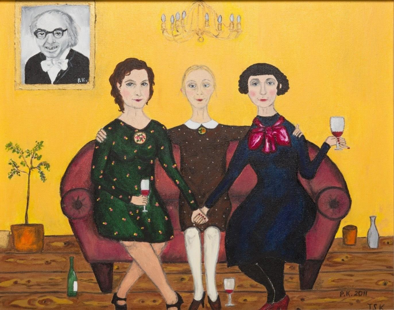 VIDEO! Näitleja Piret Kalda avas Viljandis naivistlike maalide näituse