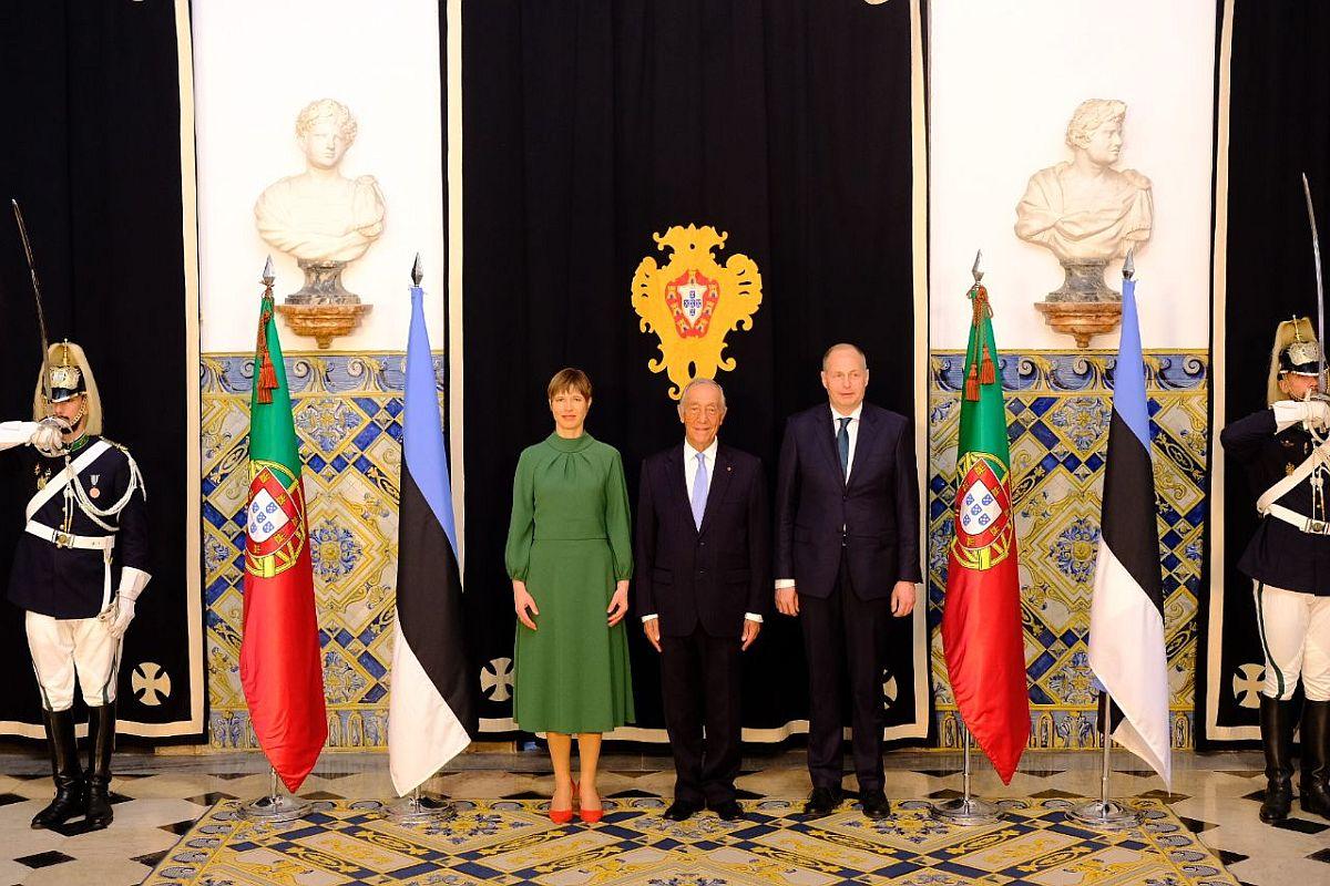 Eesti ja Portugali riigipead arutasid võimalusi koostöö süvendamiseks