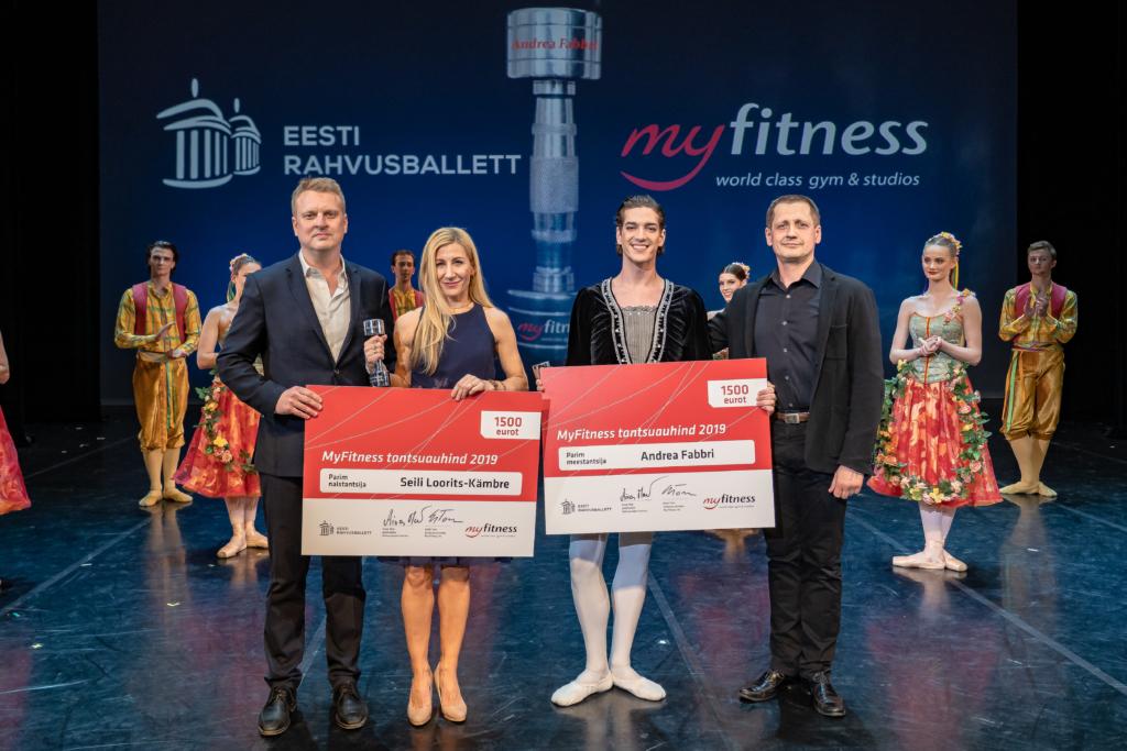 Aasta Tantsija auhinnad pälvisid Eesti Rahvusballeti tantsijad Seili Loorits-Kämbre ja Andrea Fabbri