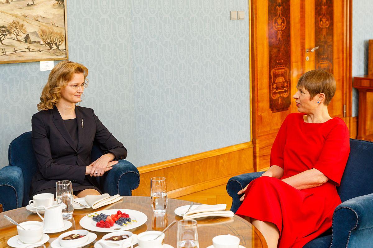 Fotod! Presidendile andsid volikirjad Jaapani, Slovakkia ja Kuveidi suursaadikud