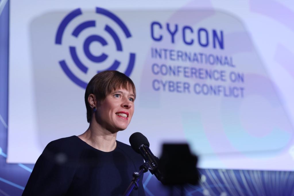 President Kersti Kaljulaid: rahvusvaheline õigus kehtib ka küberruumis