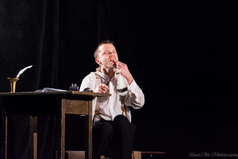 """Argo Aadli esitab Von Glehni Teatris sel reedel monoetendust """"Hullumeelse päevik"""""""