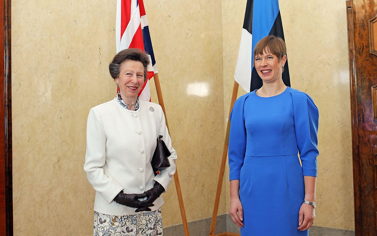 President kohtus printsess Anne'iga