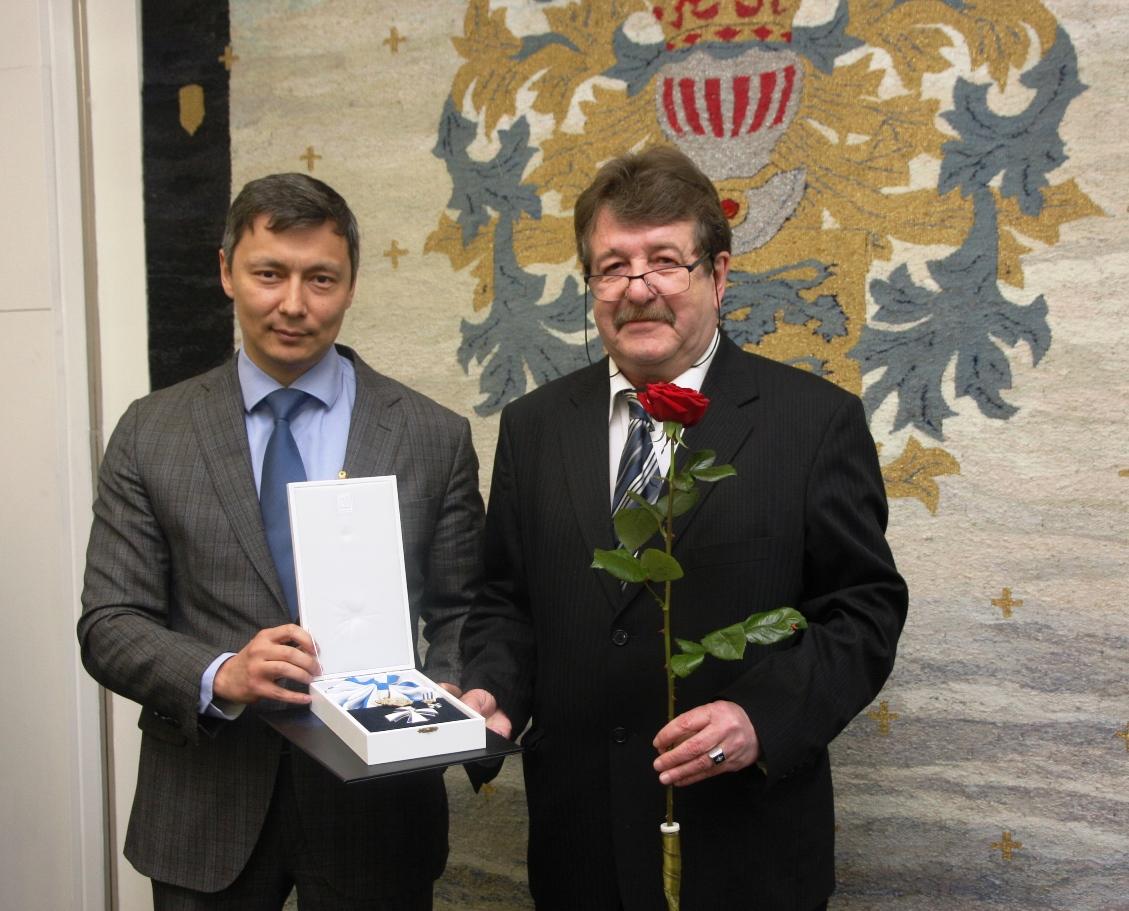 Boriss Dubovikule ja Pieter Boerefijnile anti üle autasud