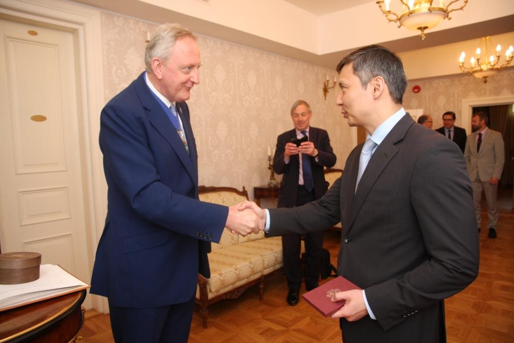 Tallinna külastas täna London City linnapea