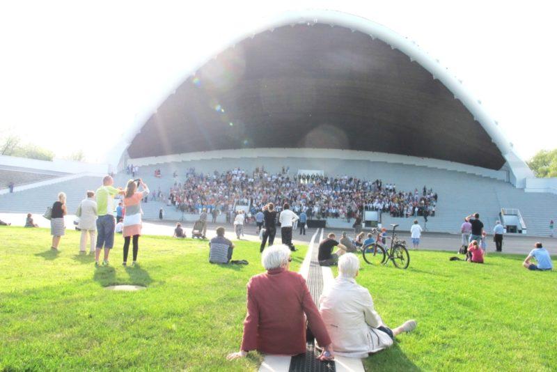 FOTOD! Tallinna lauluväljak on suureks juubelilaulupeoks valmis