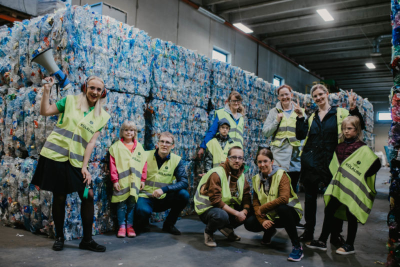 100 KESKKONNATUNDI I Eesti Pandipakend andis 2300 Eesti õpilasele keskkonnaõpet