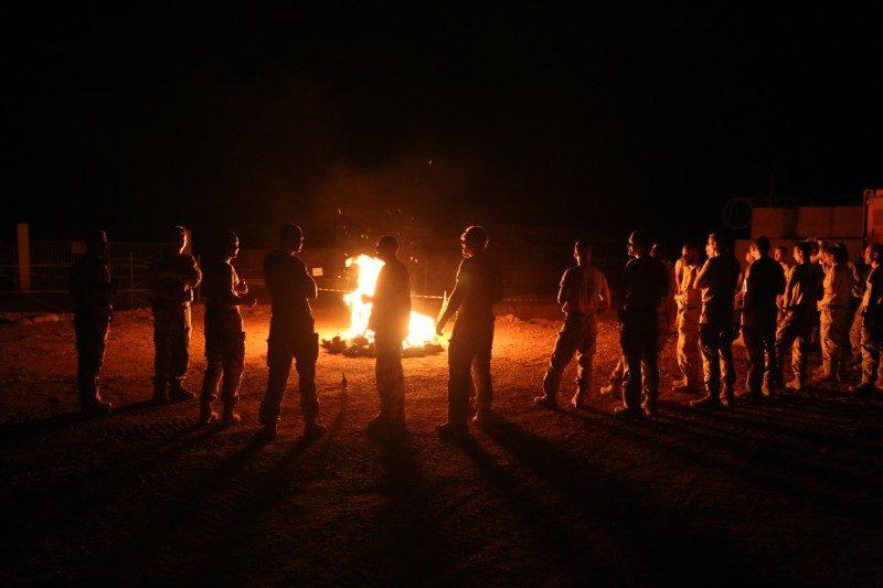 Eesti kaitseväelased tähistasid Malis jaanipäeva
