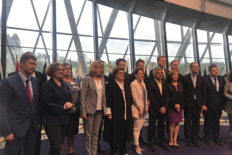 Tallinna linnapea Mihhail Kõlvart osales M28 tippkohtumisel Londonis