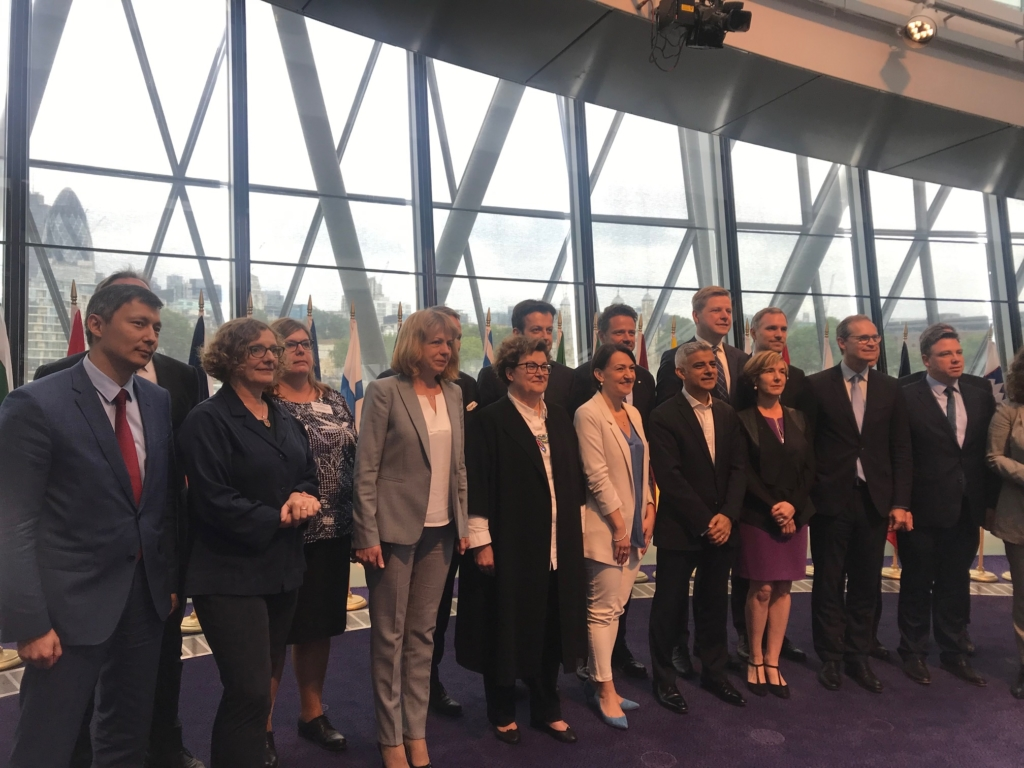 Mihhail Kõlvart osales M28 tippkohtumisel Londonis